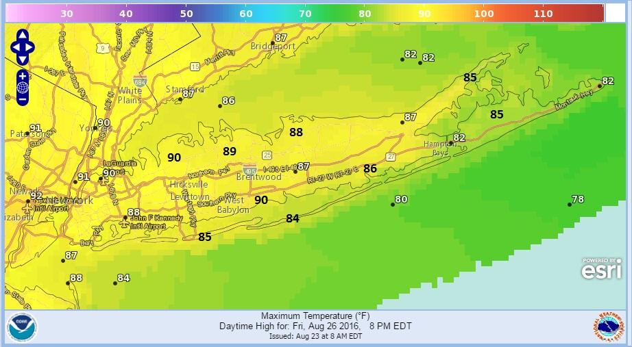 Humidity Higher Thursday