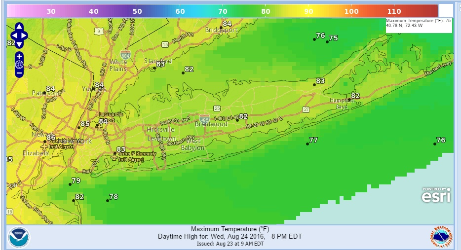 Long Island Weather Drought No Tropical Threats