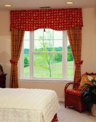 Double Hung w/ Picture Window Flankers and Colonial Grids ...