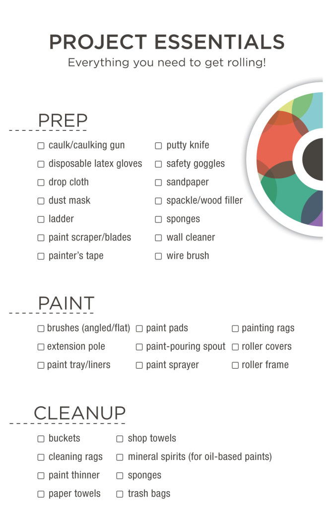 Paint Project Essentials Checklist - Weaver\u0027s Hardware