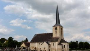 Champvert l'église