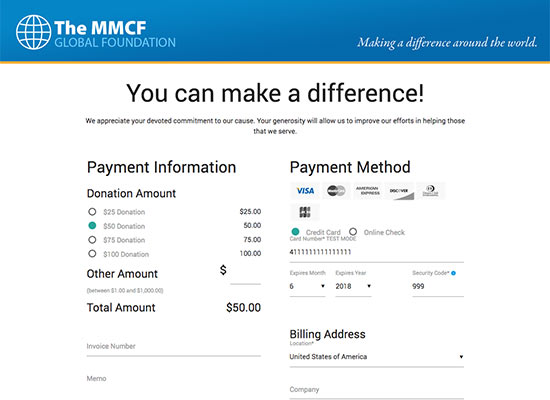 Online Payment Page Samples Create Your Online Payment System