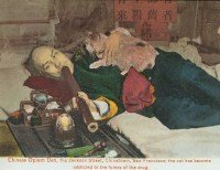Smoking Opium