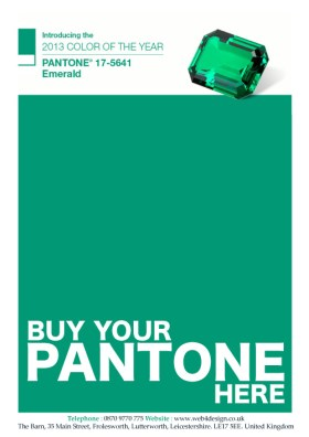 Get your PANTONE here