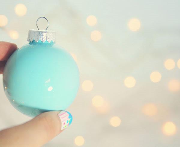 25 increibles  adornos de navidad hechos a mano - esferas pintadas y decoradas por dentro