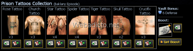 Prison-Tattoos-Collection