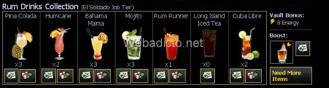 Rum-Drinks-Collection