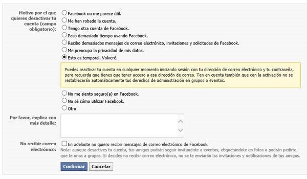 como bloquear facebook temporalmente 2