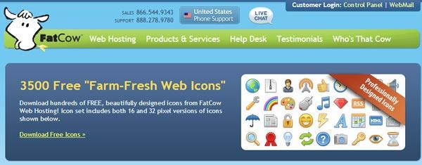 descarga iconos gratis 10 packs con miles de iconos - 3500 fatcow
