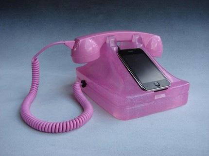iRetrofono-rosado
