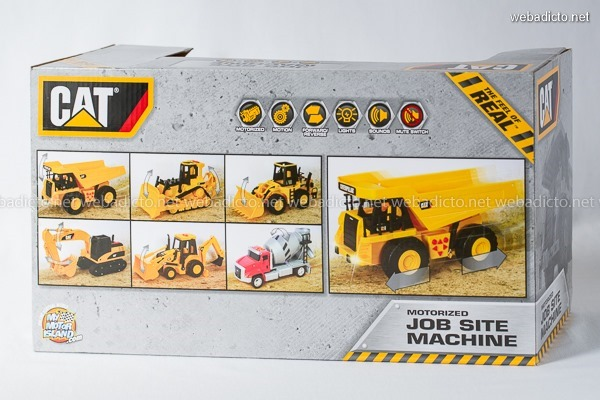 review Caterpillar Construction Job Site Machines-9743