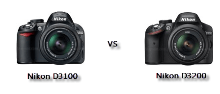 Nikon D3200 vs D3100 Comparison Nikon D3200 vs D3100 : What Are The Improvements?
