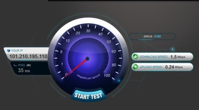 Aircel 3g speed test