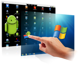 Play Android games on computer