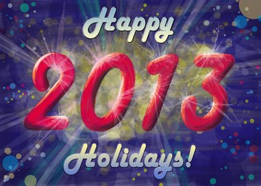 happy holidays 2013  by masha88 Download Happy New Year 2013 Wallpaper for Desktop, iPad, Mobile