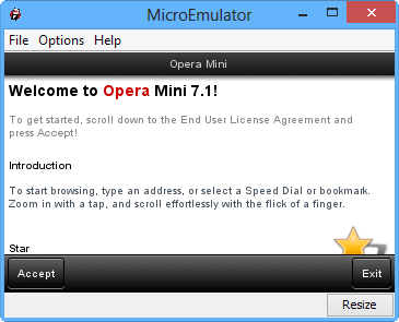 Opera Mini for PC
