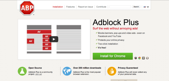 Ad Block Plus Best Google Chrome Extensions to Protect Online Privacy & Security