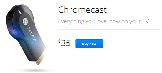 Buy Google Chromecast