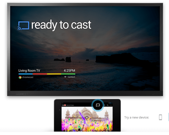 Google Chromecast demo