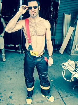 Métier attirant pompier