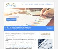 Web design for accountants - KFMCO accountants web design ...