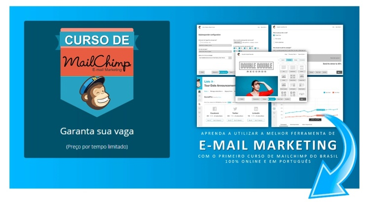 Crie campanhas de email marketing - Curso de Mailchimp