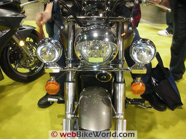 Motorcycle Driving Lights - webBikeWorld
