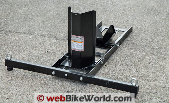 how to use front motorcycle stand