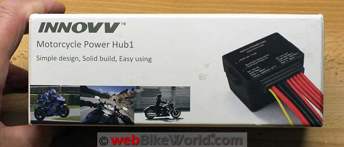 INNOVV Power Hub Review - webBikeWorld