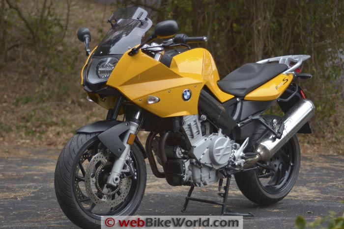 BMW F 800 S Blog - webBikeWorld