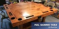 Coolest DIY Gaming Tables - Webb Pickersgill