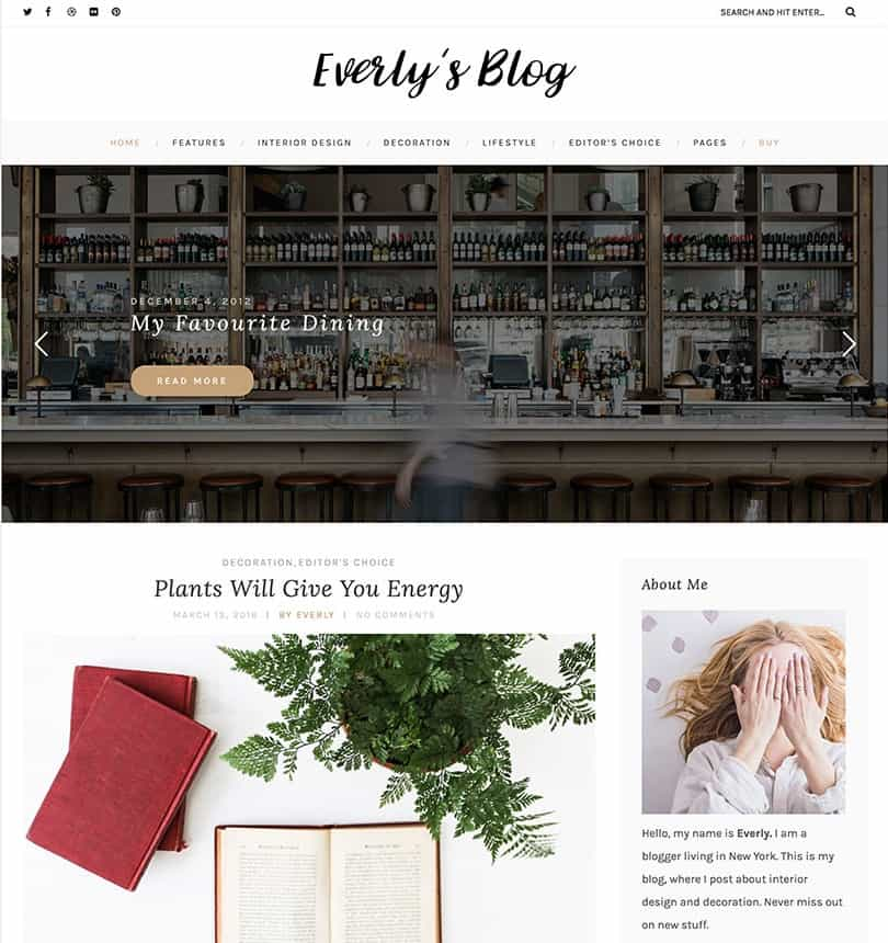 30+ Best Simple WordPress Themes of 2018 (UPDATED) - free forms templates