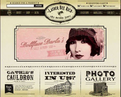 21 Beautiful Examples of Typography in Web Design Typography - retro flyer templates