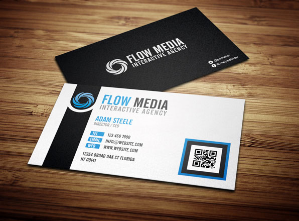 30+ Cool But Still Free Business Cards Inspiration - web designer business card