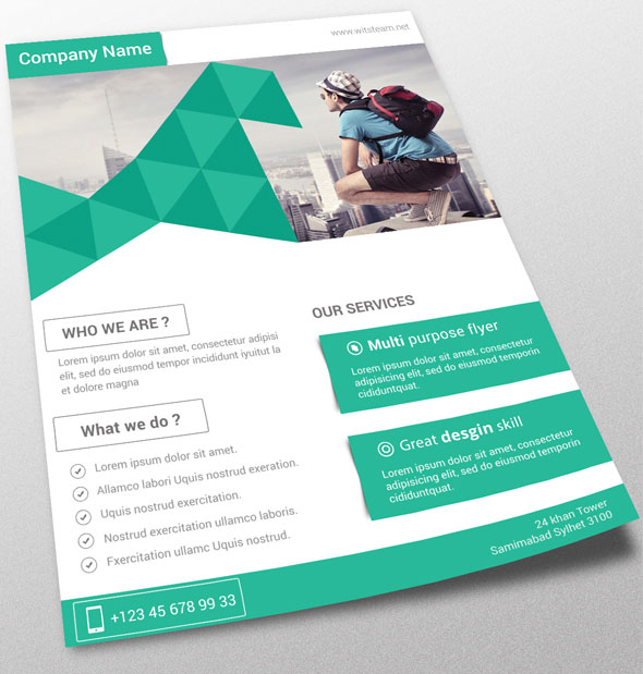 Free PSD Flyer Templates to Download for Photoshop 2016 Freebies