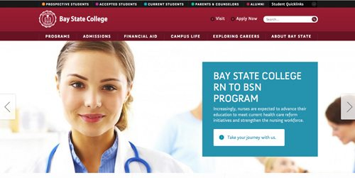 10. Bay State College
