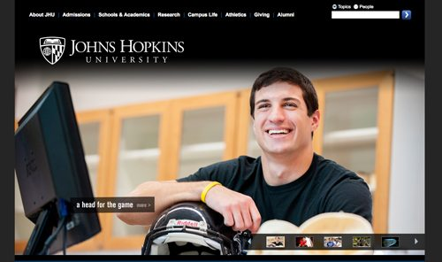 21. Johns Hopkins University