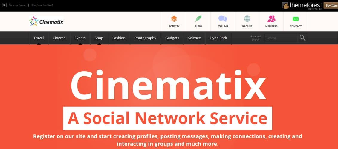 20 Newest BuddyPress Community Website Templates - neighborhood website templates