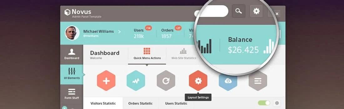 25 Interesting App Designs For Your Inspiration - dashboard design inspiration