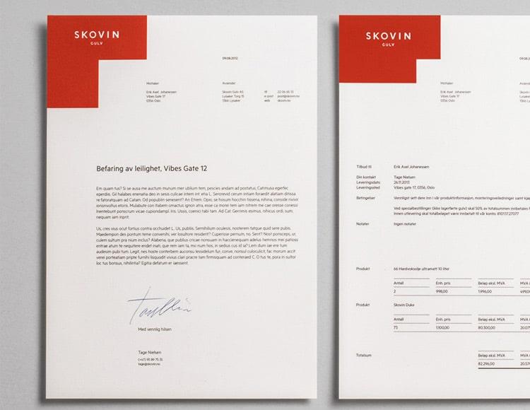 22 Beautiful Invoice Designs for Creatives - invoice designs