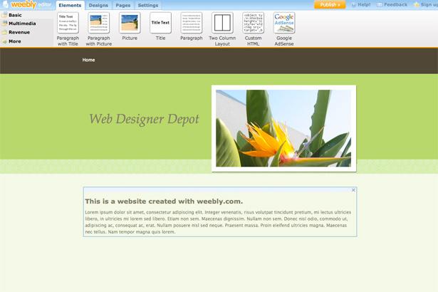 8 Free Design Platforms To Build Your Own Site Webdesigner Depot