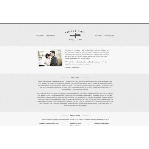 Medium Crop Of Wedding Website Examples
