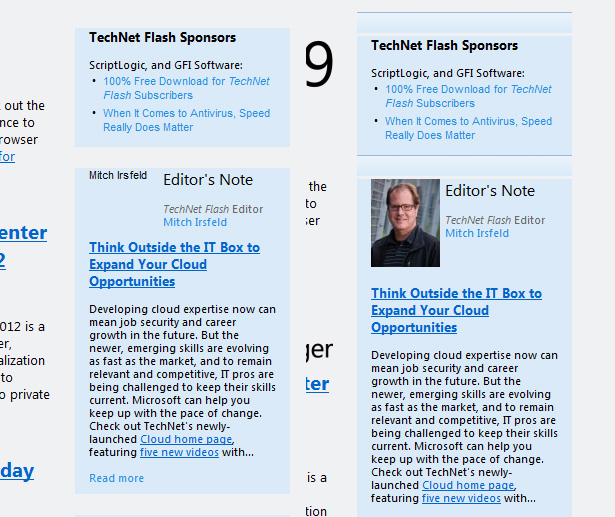 Do\u0027s and don\u0027ts for designing email newsletters Webdesigner Depot - example news letter