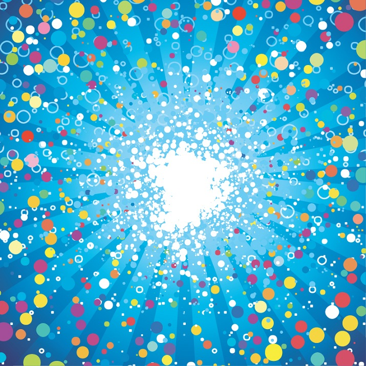 Abstract Fancy Dots Background Vector Free Vector Graphics All
