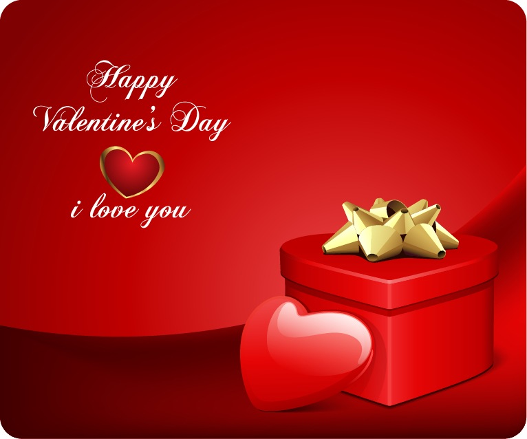 Valentine\u0027s Day Card Vector Free Vector Graphics All Free Web