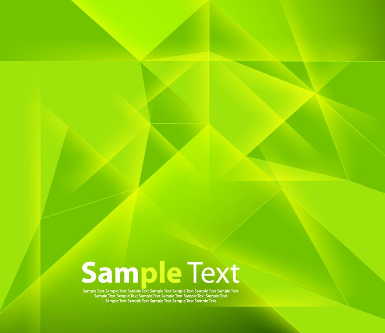 Sahil 3d Name Wallpaper Abstract Green Polygonal Background Vector Illustration