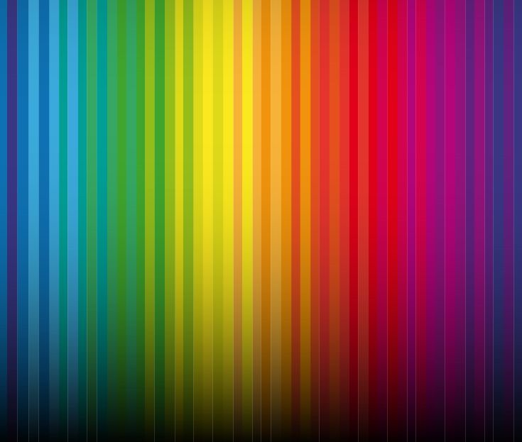 Black And White Striped Wallpaper Abstract Rainbow Colorful Vertical Striped Pattern Vector