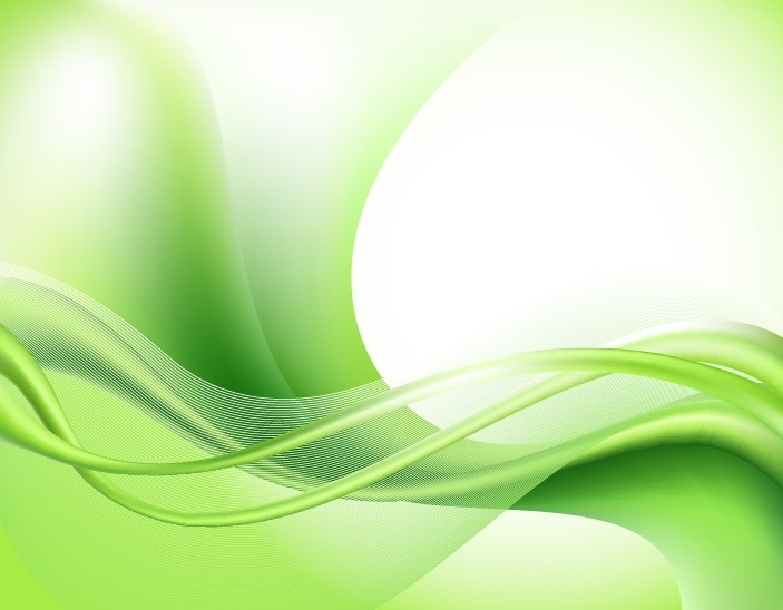 Abstract Green Waves Background Free Vector Graphics All Free