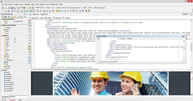 Website Builder, HTML editor by Web Design Land