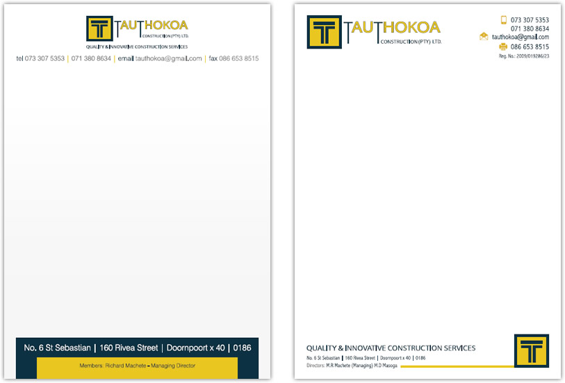 Construction letterhead templates free costumepartyrun home builders construction spiritdancerdesigns Image collections